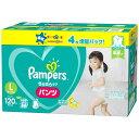 【4枚増量】【パンツタイプ】パンパース さらさらケア パンツ Lサイズ 120枚(58枚+2×2)紙...
