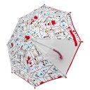 スヌーピー 傘(アカ×40cm)