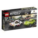 レゴ スピードチャンピオン (75888) ポルシェ 911 RSR と 911 ターボ 3.0【送料無料】