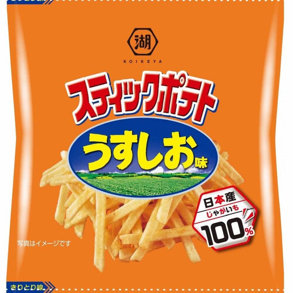 スティックポテト うすしお味 4連【お菓子】