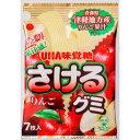 さけるグミ 津軽りんご 7枚【お菓子】