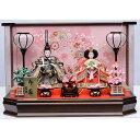【雛人形】ベビーザらス限定 ケース親王飾り 春歌雪輪桜六角アクリル【送料無料】