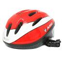 楽天トイザらス・ベビーザらストイザらス AVIGO キッズヘルメット Lサイズ レッド LED付 (58〜60cm)
