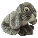 トイザらス アニマルアレイ ぬいぐるみ リアルラビット Grey bunnyの写真