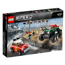 レゴ スピードチャンピオン 75894 1967 ミニクーパー S ラリーと 2018 ミニ・ジョン・クーパー・ワークス・バギー【送料無料】