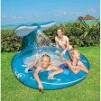 クジラの噴水つきプール 208×157cm【送料無料】