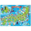ディズニーチャイルドパズル 60ピース ミッキーと日本地図...