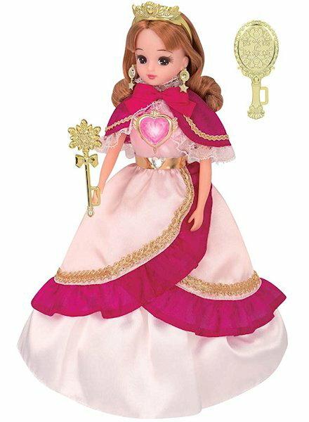 リカちゃん人形ゆめみるお姫さまプリズムハートリカちゃんキャラクターグッズおもちゃシリーズ定番女の子お