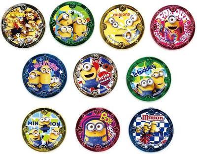 すくいネタコインうきぴかコインミニオンズ100個入(1個あたり¥22)おもちゃグッズ景品子供子どもイ