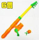 【釣り竿】【おもちゃ】ひっかけ 磁石 クルクル つりざお 6...