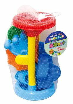 お砂場遊びセットGoGoおあそびたいむ水車セットおもちゃグッズ砂場セットお砂場道具砂型スコップジョウ