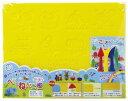 ショッピング工作 【粘土】【道具】ヘラ付ねんど板 おし型つき【おもちゃ グッズ 粘土板 型 ねんど へら セット 幼稚園 小学校 男の子 女の子 知育玩具 プレゼント ギフト 贈り物 景品 記念品】