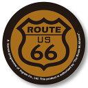 愛好, 收藏 - 【メール便可】缶バッチ Route 66/B (ルート66 バッジ)【アメリカ合衆国の国道66号線 マザーロードルート66 道路標識 グッズ】