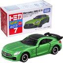 迷你車 - トミカ No.7 メルセデス-AMG GT R(箱)【トミカミニカー Mercedes-AMG GT R SCALE 1/65 TAKARA TOMY】
