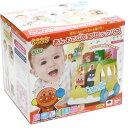 ショッピングアンパンマン アンパンマン あんよでGO!ブロックバス【おもちゃ お部屋遊び 知育玩具 ブロック プレゼント ばいきんまん】