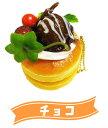 樂天商城 - 絶品パンケーキスクイーズ チョコ(ボールチェーン付)【 おもちゃ ボールチェーン キーホルダー ホットケーキ ふわふわ 】