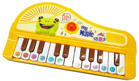 【電子ピアノ】【知育】リズムdeピアノ【おもちゃ グッズ 楽器 ピアノ演奏 メロディ 電池別売り 単3電池2本使用 知育玩具 音感 男の子 女の子 プレゼント ギフト 音が鳴る玩具 音楽 子供 子ども キッズ 楽器玩具 練習】