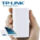 急速充電TP-Link 超コンパクトモバイルバッテリー 5200mAh 急速充電可能 iPhone / iPad /ipod/ Xperia / Galaxy / Nexus他対応 ホワイト TL-PB5200