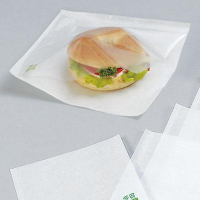 福助工業 カトラバーガー袋 No.16 無地(200枚)
