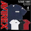 AVIREX アビレックス アヴィレックス 半袖 Tシャツ 6123036 FATIGUE ファティーグ ポケット付ARMY Tシャツ メン...
