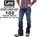 LEE リー メンズ 102 アメリカン ライダース デニム ブーツカット ジーンズ LM5102 オーガニック コットン