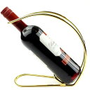 ワインホルダー ワインラック ホルダー ワイン シャンパン ボトル スタンド 箱 ケース インテリア Anberotta W34 (ゴールド・シルバー)