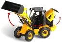 【予約】Yanmarヤンマー V8 油圧ショベル ROS 建設機械模型 工事車両 1/32 ミニチュア