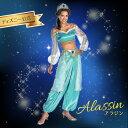 ディズニー 「アラジン」 ジャスミンのコスチューム コスプレ衣装 (二次会、結婚式、仮装、パーティー、宴会、舞台、演劇、ハロウィン、大きいサイズ)  女性 大人...