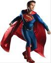 スーパーマンのコスチューム5点セットコスチュームコスプレ衣装 (二次会、結婚式、仮装、パーティー、宴会、舞台、演劇、ハロウィン、大きいサイズ)大人用男性