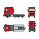 """【予約】MB Actrosメルセデスベンツアクトロス Big Space SLT """"Hartinger"""" トラック トラクタヘッド /NZG 建設機械模型 工事車両 1/50 ミニチュア"""