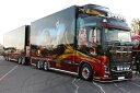 【予約】2017年10-12月以降発売予定Ekdahl Volvo FH04 Globetrotter XL Swedish combi トラック Teknoテクノ 建設機械模型 工事車両 1/50 ミニチュア