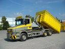 【予約】2017年5-7月以降発売予定Dornbierer Scaniaスカニア T-serie rigid truck with hookarm container トラック Teknoテクノ 建設機械模型 工事車両 1/50 ミニチュア