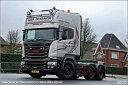 【予約】2017年5-7月以降発売予定Kraker, De Scaniaスカニア R-Streamline Topline トラック トラクタヘッド Teknoテクノ 建設機械模型 工事車両 1/50 ミニチュア