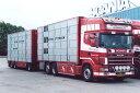 【予約】2017年10-12月以降発売予定Ottesen, Peter Scaniaスカニア 4-serie Topline with livestock trailer combi トレーラー Teknoテクノ 建設機械模型 工事車両 1/50 ミニチュア