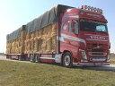 【予約】2017年6-8月以降発売予定Vandemoortel Volvo FH04 Globetrotter XL rigid truck トレーラー and load トラック Teknoテクノ 建設機械模型 工事車両 1/50 ミニチュア