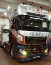 【予約】2017年10-12月以降発売予定LD Transport DAF Euro 6 XF Super Space Cab トラック トラクタヘッド Teknoテクノ 建設機械模型 工事車両 1/50 ミニチュア