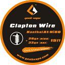 GeekVape Claptonクラプトンアトマイザー DIY Kanthalカンタル線 ワイヤー KA1/Ni80 Tape Wire (26GA Ni80 32GA) 5m 電子タバコ 【メール便送料無料】