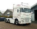 【予約】10-12月以降発売予定Morten Larsen & Son DAF XF SSCトラック トラクタヘッド 建設機械模型 工事車両 WSI 1/50 ミニチュア