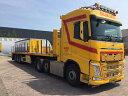 【予約】4-6月以降発売予定Rijksen Transport Volvo FH4 Globetrotter Flatbed Trailer3軸トラック 建設機械模型 工事車両 WSI 1/50 ミニチュア