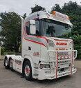 【予約】4-6月以降発売予定J.J.B. Transport Scaniaスカニア S Normal CS20Nトラクタ 建設機械模型 工事車両 WSI 1/50 ミニチュア
