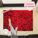 【ウォールステッカー】薔薇 ナチュラル 植物 木 玄関 リビ...