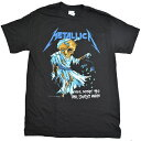 【ネコポス便送料無料】METALLICA DORRIS THEIR MONEY TIPS HER SCALES AGAIN Tシャツ PUSHEAD【オフィシャル】