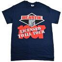 【DM便送料無料】BEASTIE BOYS Licensed To Ill TOUR Tシャツ【オフィシャル】