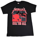 【ネコポス便送料無料】METALLICA KILL'EM ALL Tシャツ【オフィシャル】