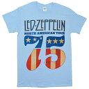 LED ZEPPELIN レッドツェッペリン North American Tour Tシャツ