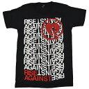 ショッピングagain RISE AGAINST ライズアゲインスト Stacked Tシャツ