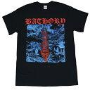 ショッピングOn BATHORY バソリー Blood On Ice Tシャツ