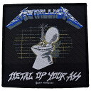 METALLICA メタリカ Metal Up Your Ass Patch ワッペン