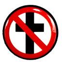 BAD RELIGION バッドレリジョン Classic Cross Buster バッジ