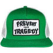 THRASHER スラッシャー Prevent This Tragedy メッシュキャップ GREEN×WHITE USA企画